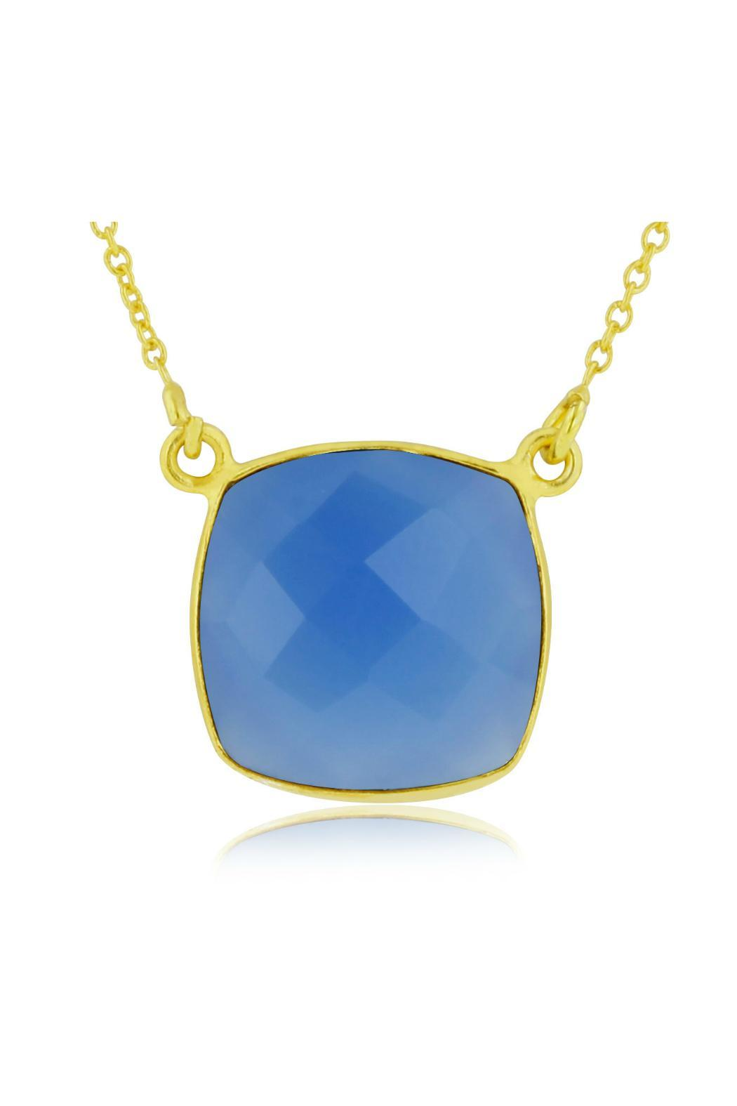 Passiana Blue Onyx Necklace - Front Cropped Image