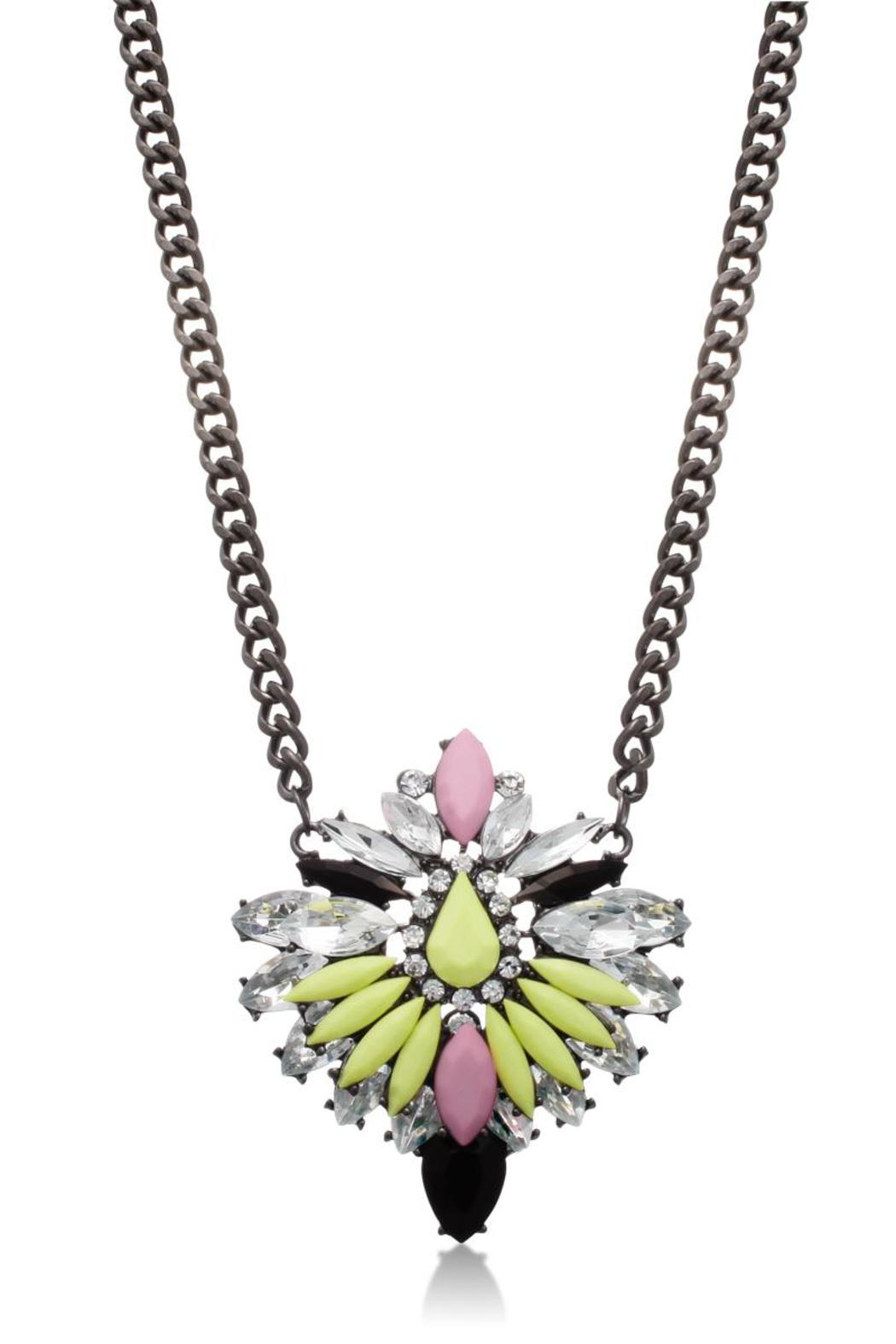 Passiana Cotton Candy Necklace - Front Full Image