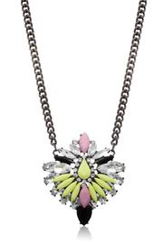 Passiana Cotton Candy Necklace - Front full body