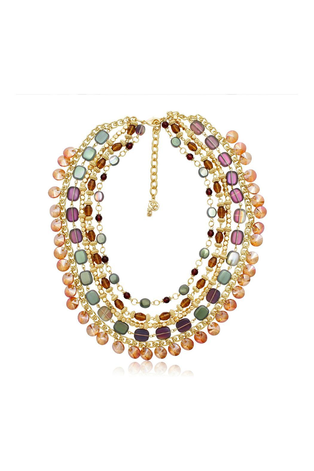 Passiana Crystal Strand Necklace - Front Cropped Image