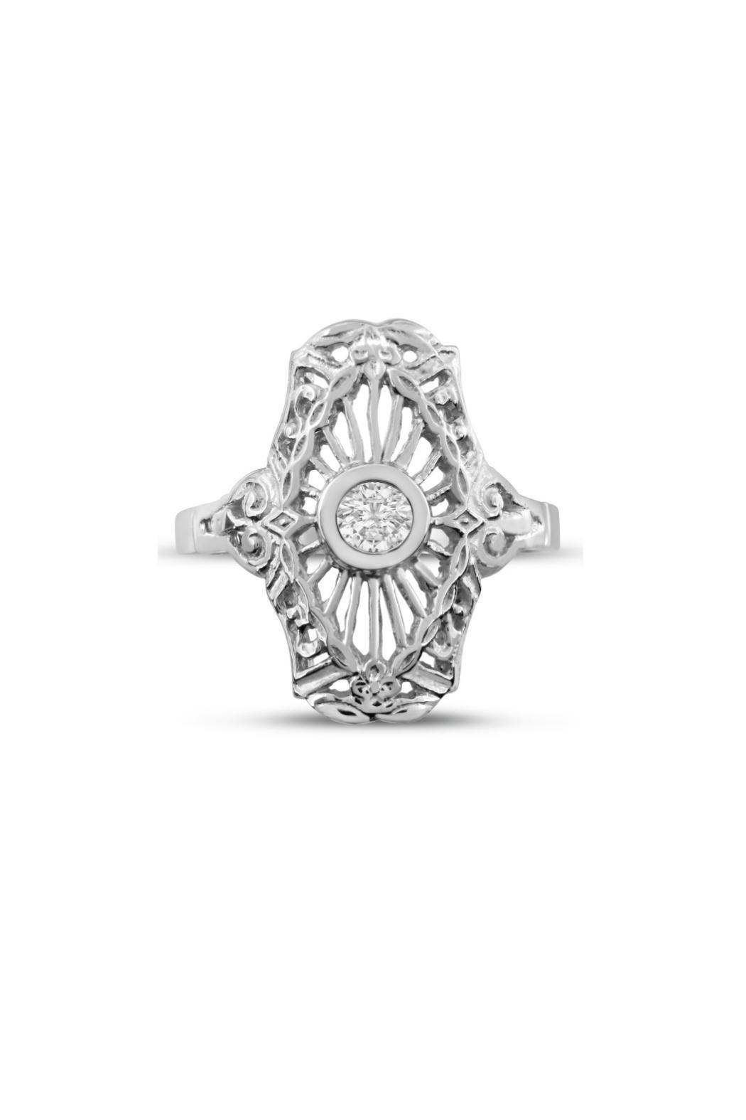 Passiana Diamond Cathedral Ring - Main Image