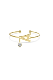Passiana Diamond Initial Bracelet - Product Mini Image
