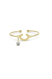 Passiana Diamond Initial Bracelet - Side cropped
