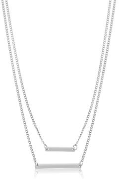 Passiana Double Bar Necklace - Product List Image