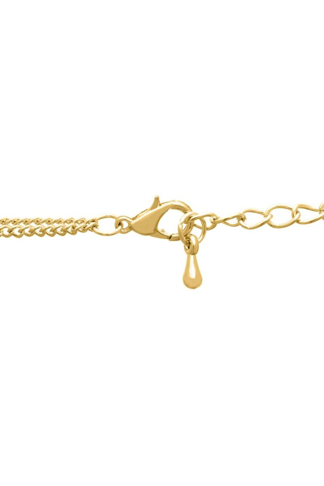 Passiana Double Bar Necklace - Side Cropped Image