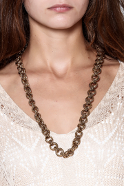 Passiana Gia Chain Necklace - Back cropped