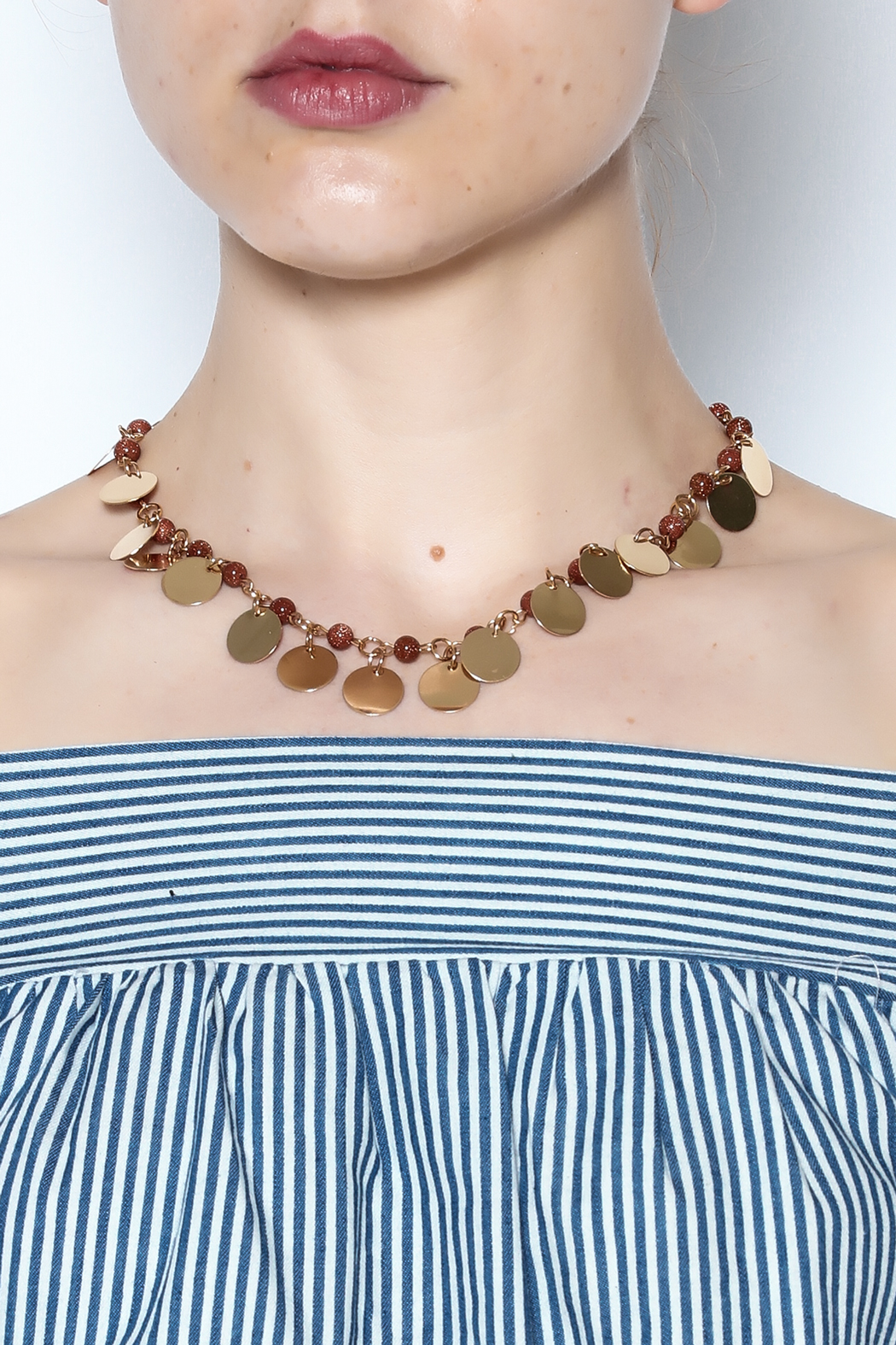 Passiana Gold Cassandra Necklace - Main Image