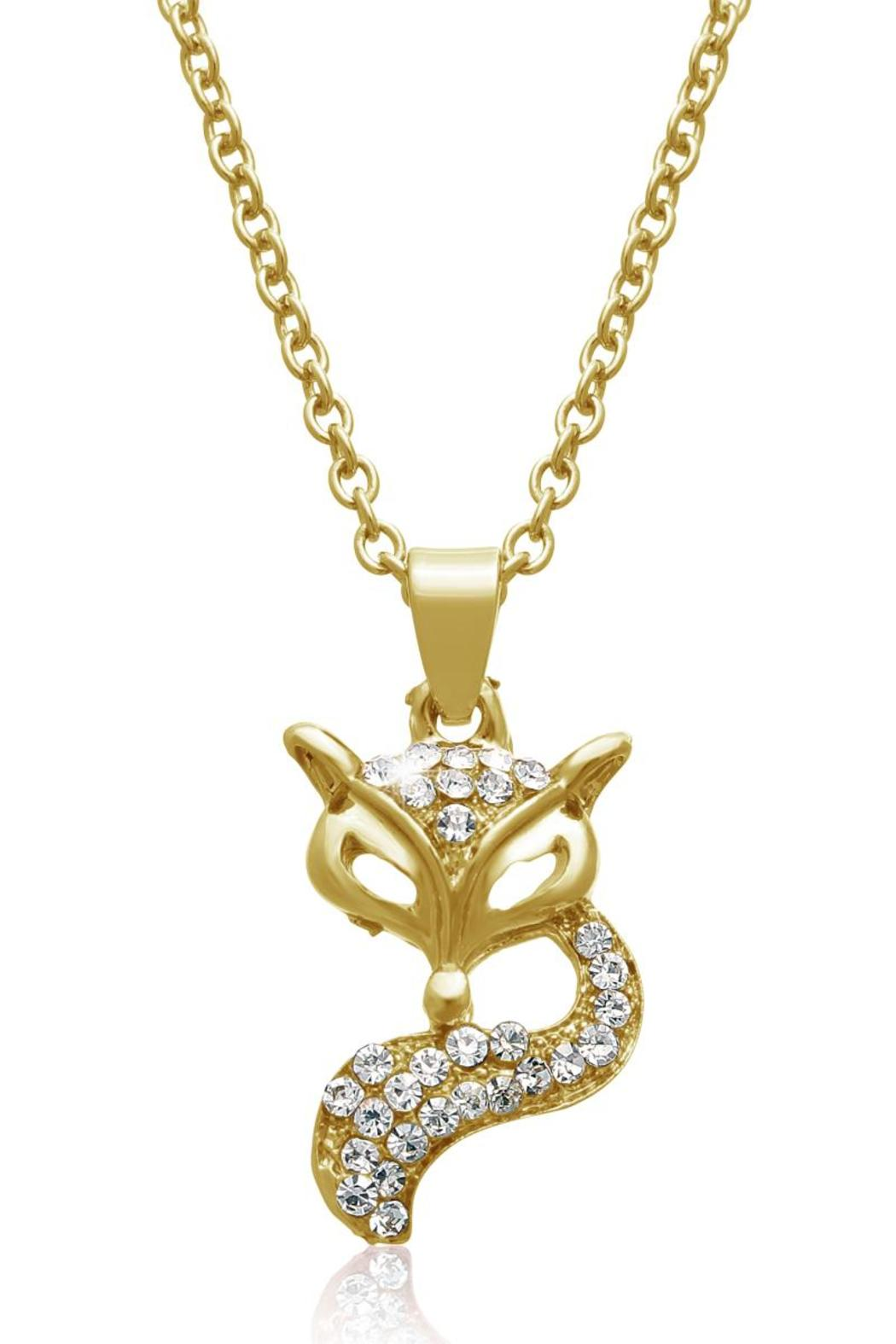Passiana Gold Fox Necklace From Manhattan By 6th Borough