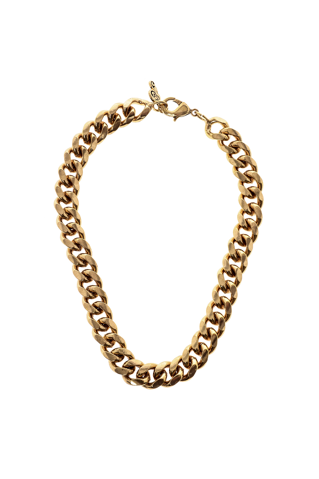 Passiana Gold Heavy Chain Necklace - Main Image