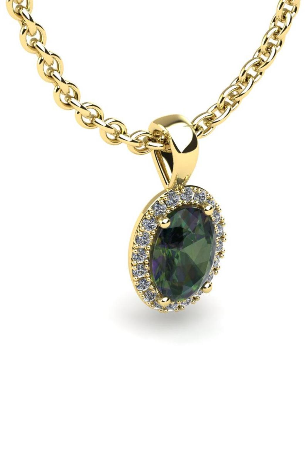 Passiana Gold Mystic Necklace - Front Full Image