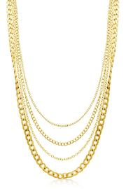 Passiana Gold Quadruple Chain - Product Mini Image