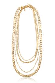 Passiana Gold Quadruple Chain Necklace - Product Mini Image