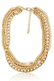 Passiana Gold Triple Chain Necklace - Product Mini Image