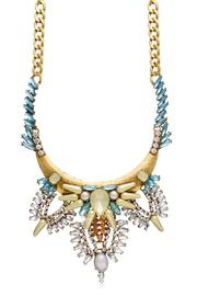 Passiana Gretian Crystal Necklace - Product Mini Image