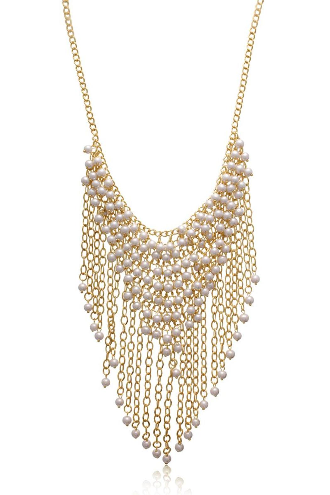 Passiana Gretian Pearl Necklace - Main Image