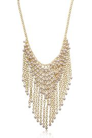 Passiana Gretian Pearl Necklace - Front full body