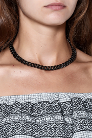 Passiana Gunmetal Chain 16