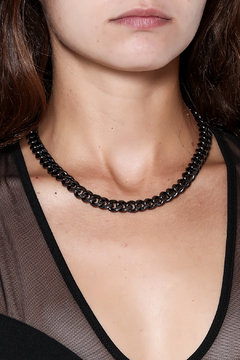 Passiana Gunmetal Chain 18