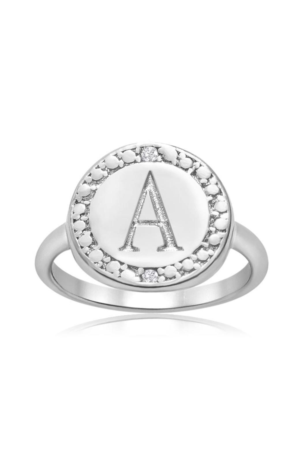Passiana Initial Ring - Main Image