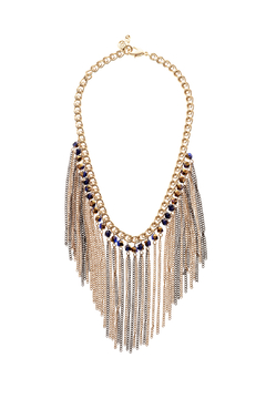 Passiana Iridescent Fringe Necklace - Product List Image