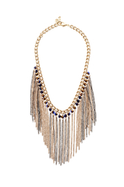 Passiana Iridescent Fringe Necklace - Product Mini Image