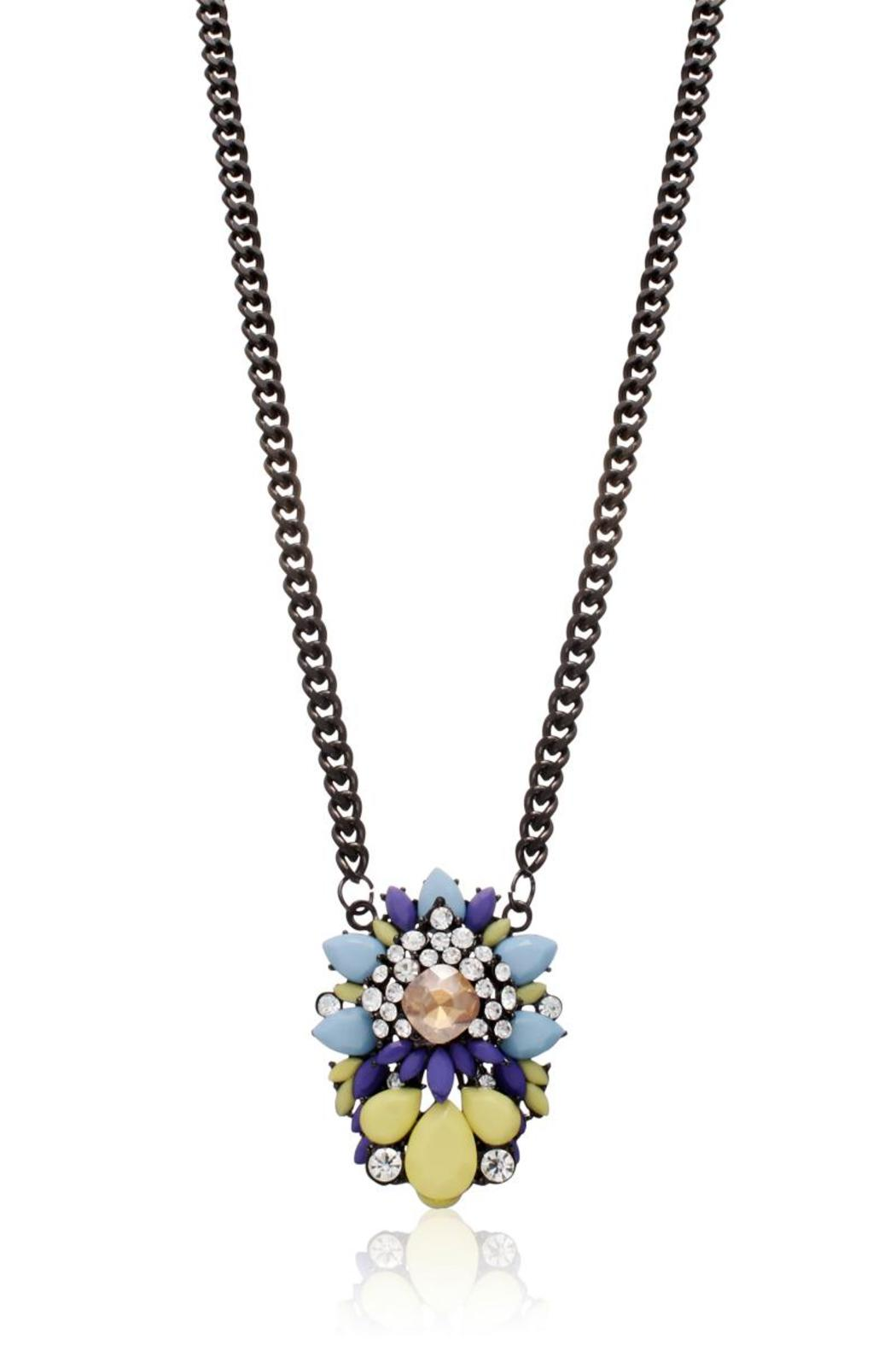 Passiana Lemon Drop Necklace - Side Cropped Image