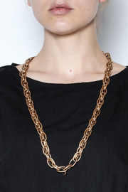 Passiana Matte Finish Chain Necklace - Product Mini Image