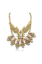 Passiana Metallic Branch Necklace - Product Mini Image