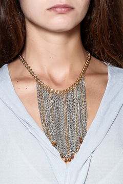 Passiana Multi Fringe Necklace - Alternate List Image