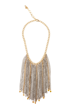 Passiana Multi Fringe Necklace - Product List Image