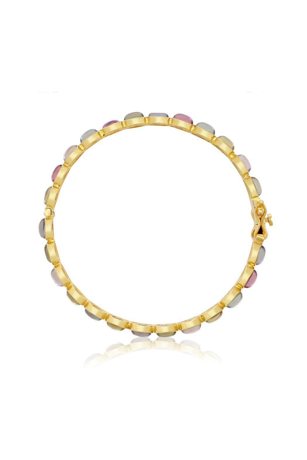 Passiana Multi Quartz Bangle - Front Full Image