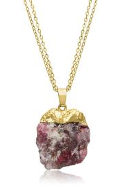 Passiana Multicolored Agate Necklace - Product Mini Image