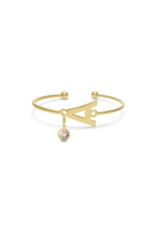 Passiana Opal Initial Bracelet - Product List Image