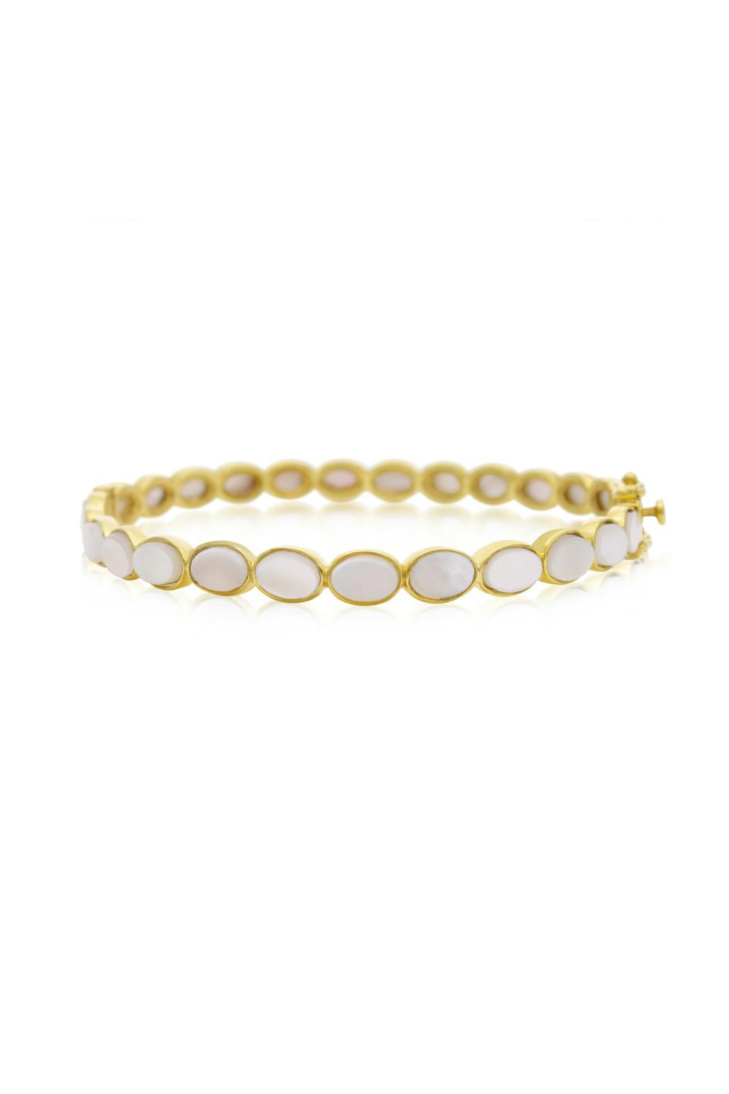 Passiana Pearl Bangle Bracelet - Front Cropped Image