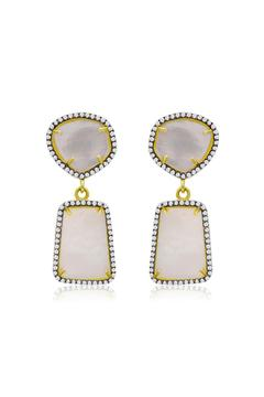 Shoptiques Product: Pearl Drop Earrings