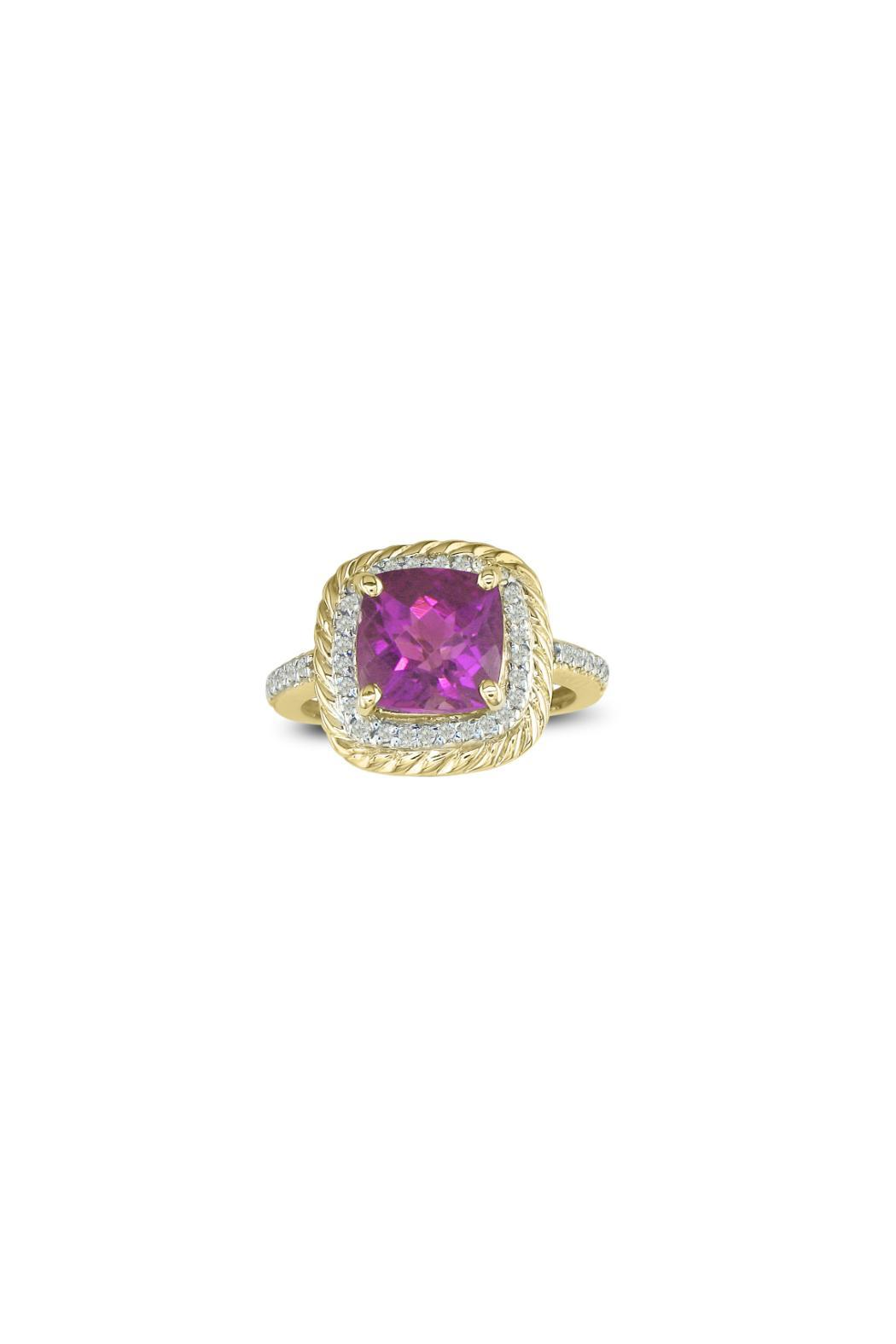Passiana Pink Sapphire Ring - Front Cropped Image