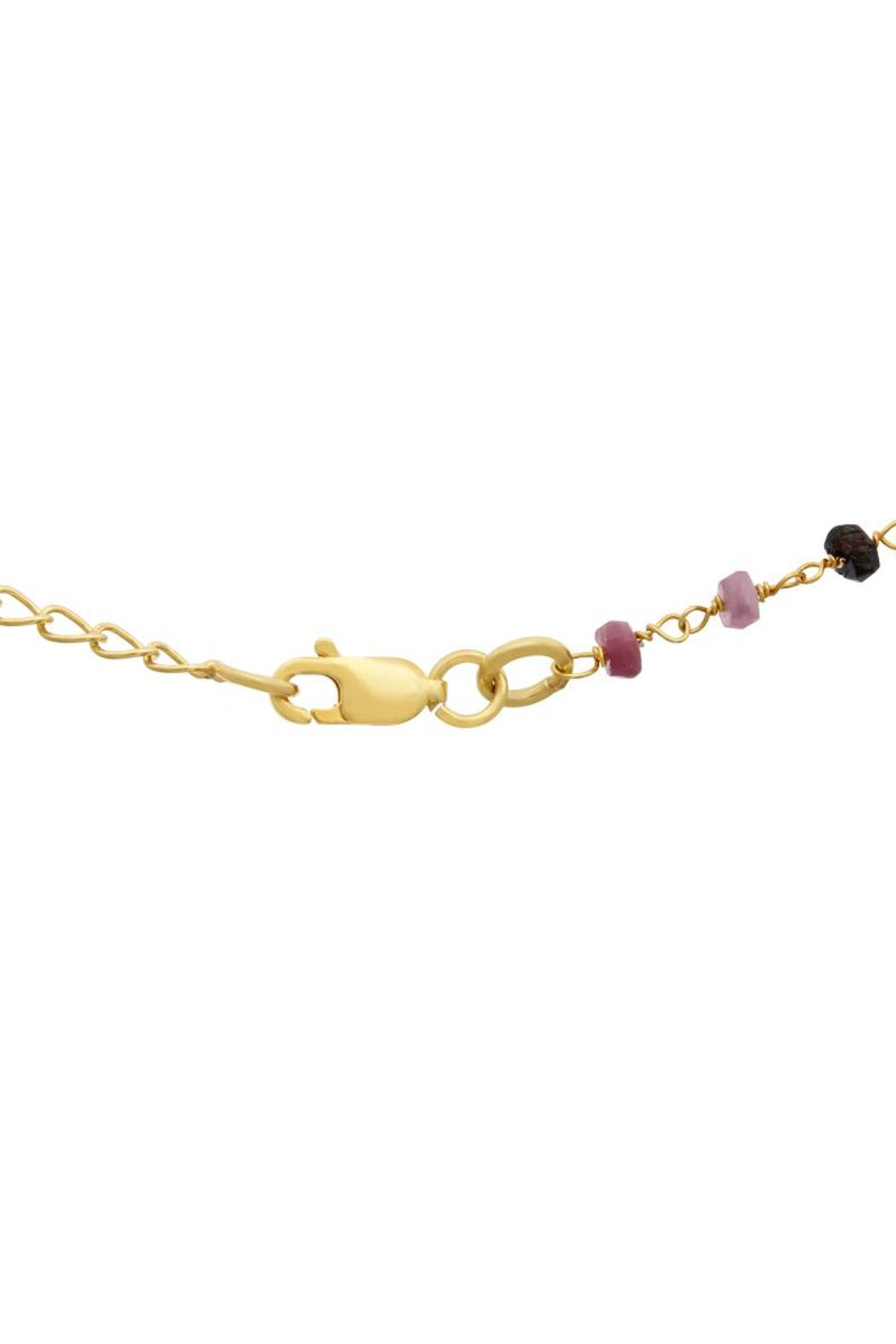 Passiana Pink Tourmaline Necklace - Side Cropped Image
