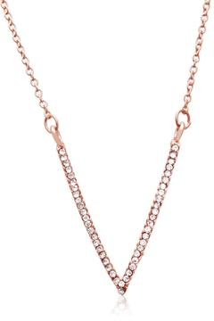 Shoptiques Product: Rose Crystal Necklace