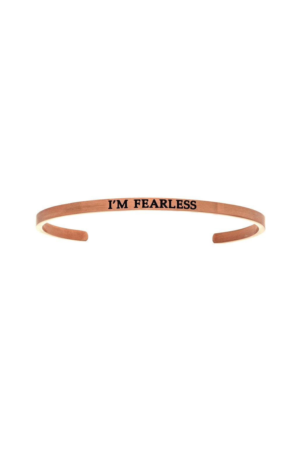 Passiana Rose Fearless Bangle - Front Cropped Image