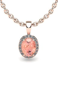 Passiana Rose Morganite Necklace - Product List Image