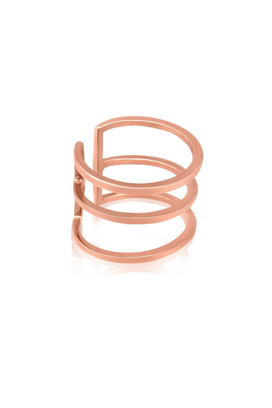 Passiana Rose Spacer Ring - Front Full Image
