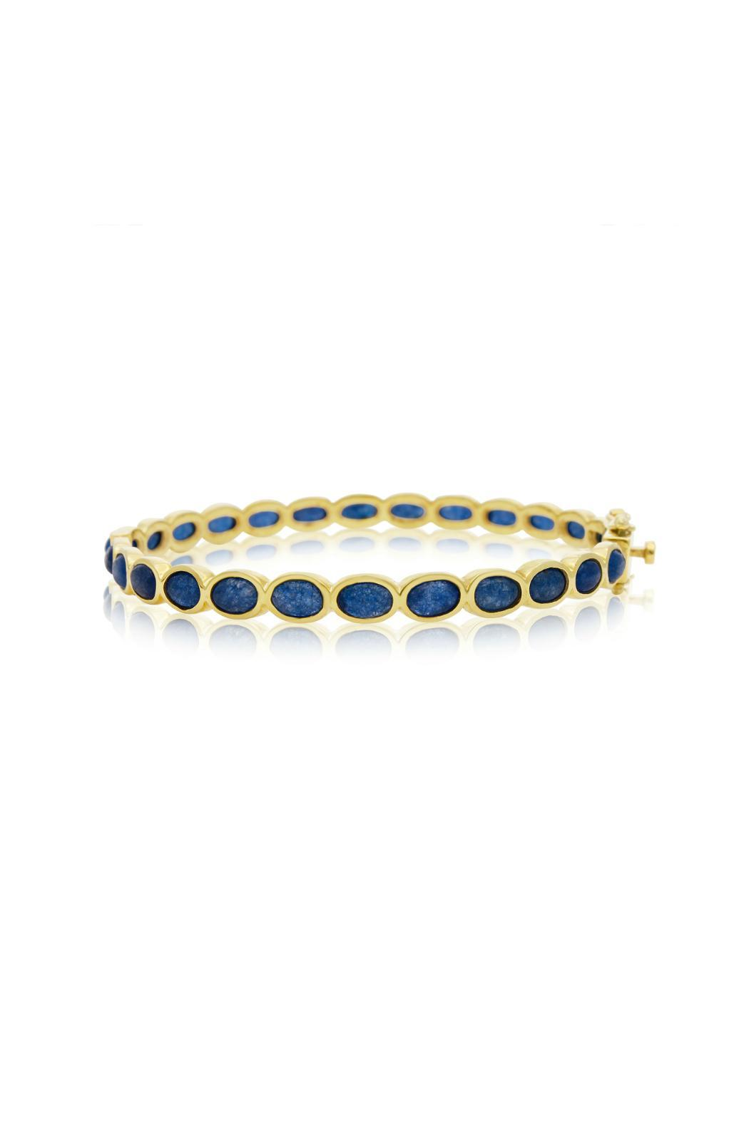 gold gearys yellow bracelet bangle bangles black sueno armenta sapphire