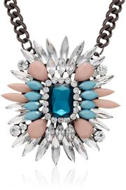 Passiana Sapphire Crystal Necklace - Product Mini Image