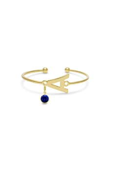 Passiana Sapphire Initial Bracelet - Product List Image