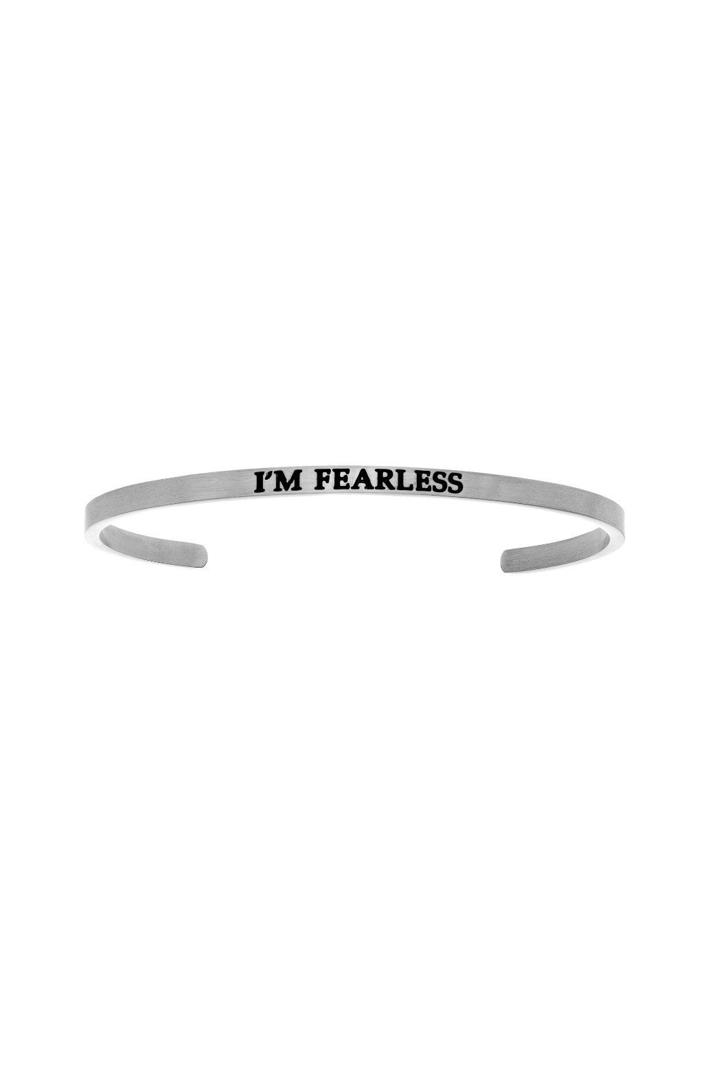 Passiana Silver Fearless Bangle - Main Image