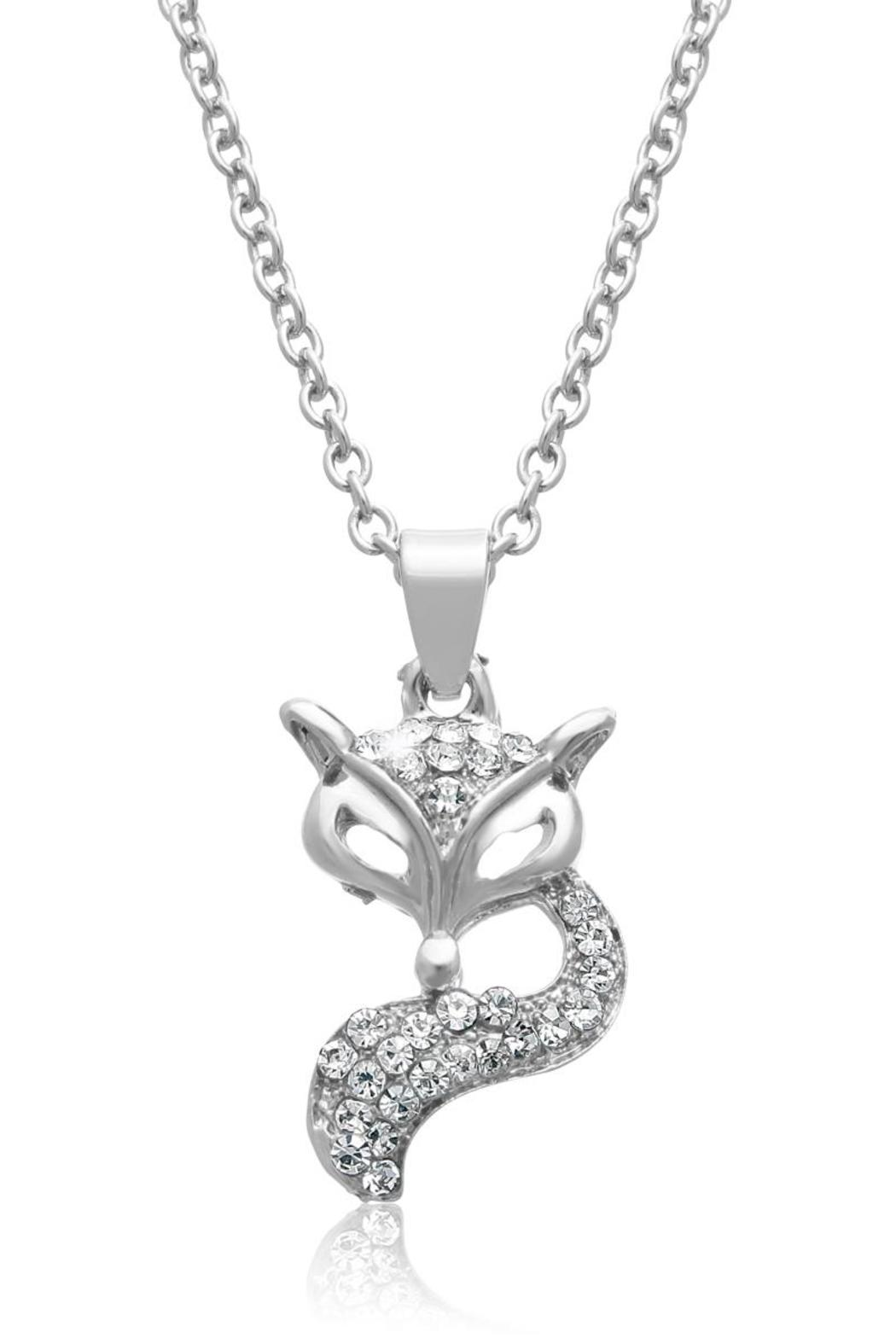 Passiana Silver Fox Necklace - Front Full Image