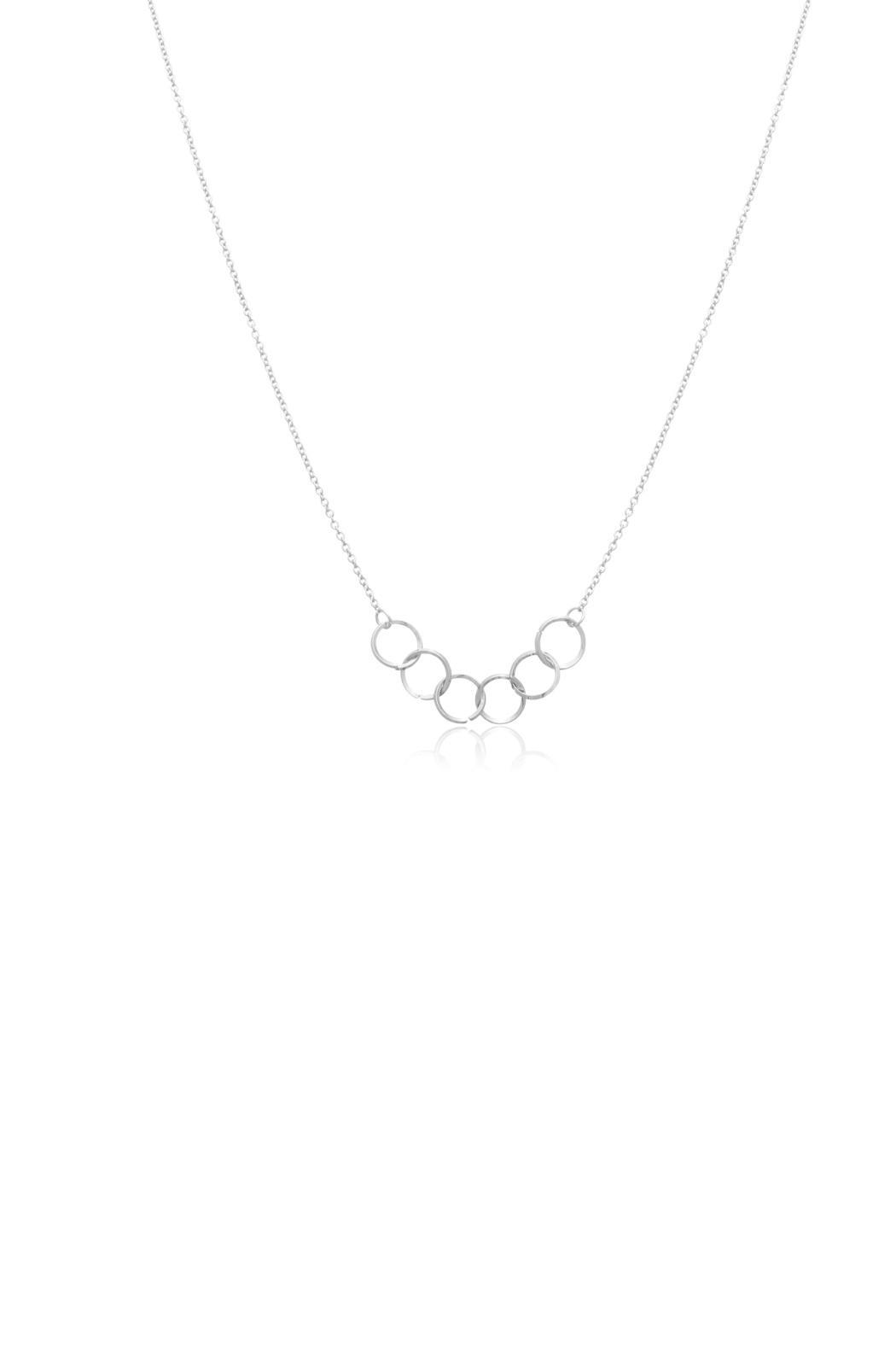 Passiana Silver Ring Necklace - Main Image