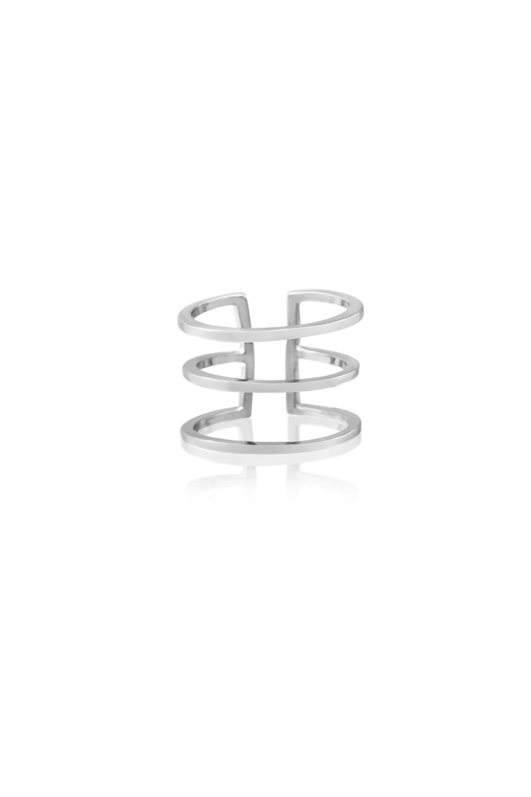 Passiana Silver Spacer Ring - Main Image