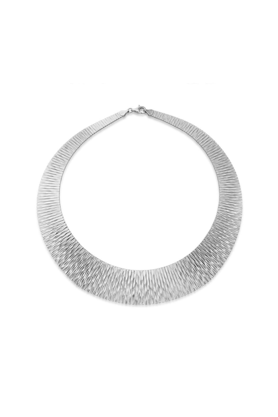 Passiana Sterling Tapered Bib Necklace - Main Image