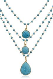Passiana Turquoise Strand Necklace - Product Mini Image